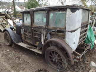 A 1929 Austin 12, family ownership since 1950s, real barn find, requiring full resto. £2,000-2,400 at Charterhouse - 6