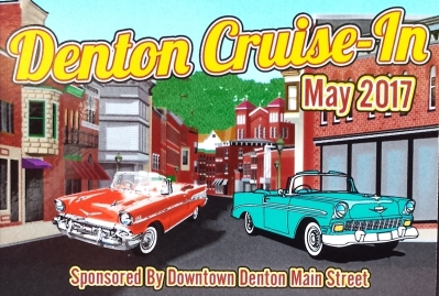 Cruise-in plaque