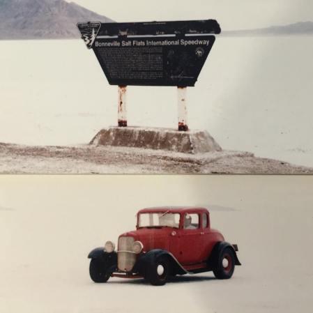 1932 Ford 5W Coupe - Bonneville Salt Flats