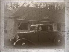 1932 Ford 5W Coupe - B&W - 4