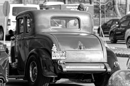 1932 Ford 5W Coupe - B&W - 6