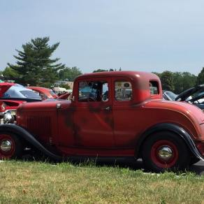 1932 Ford 5W Coupe - Car Show - 2