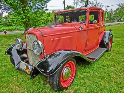 1932 Ford 5W Coupe - Car Show - 7